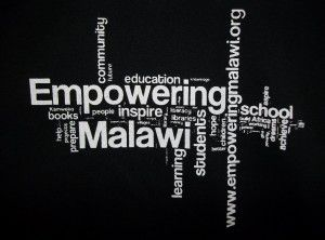 This is the logo printed on the Empowering Malawi T-Shirts