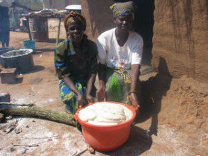Maize Nsima, the staple food of the Malawian diet AfricaBags/KamwekoVillageLifeWebSize.jpg