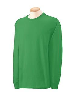 Men's Long Sleeve Green Africa Bags T-shirt