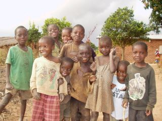 Over 70% of the children from Kamweko are orphans