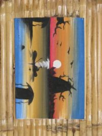 PaintedCardSunsetBayobobHorizontal-20