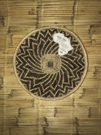 Malawi Basket Spiral Star SM Dark